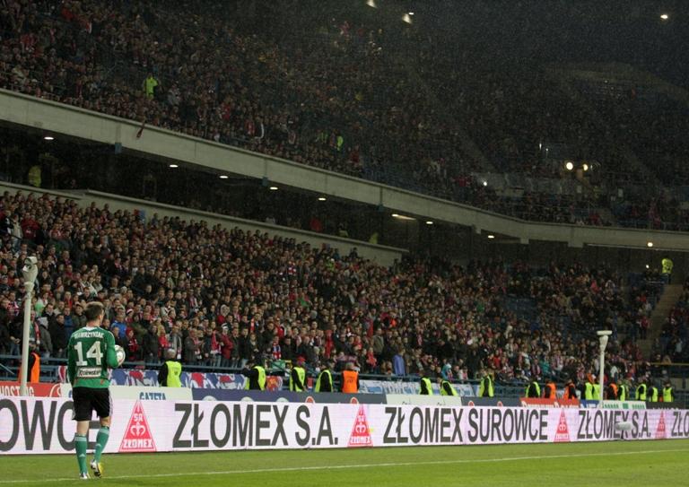 Mecz piłki nożnej: Wisła - Legia